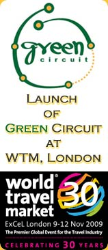 Launch of Green Circuit at WTM, London - click for detail